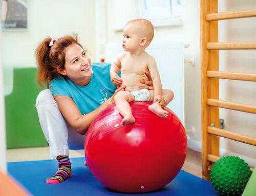 Rehabilitacja dzieci zzaburzeniami zestrony OUN