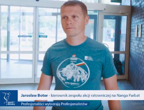 Jarosław Botor – kierownik akcji ratunkowej naNanga Parbat wSport-Klinice