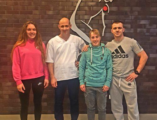 Mistrzyni Polski wzapasach – Katarzyna Krawczyk wSport-Klinice