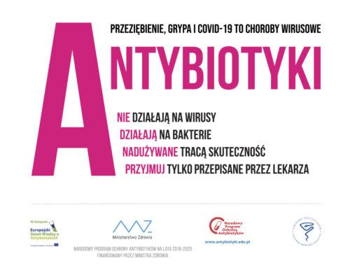 18 listopad Europejski Dzień Wiedzy oAntybiotykach